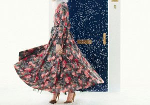 The Touring Dress 2.0, Floral, $385